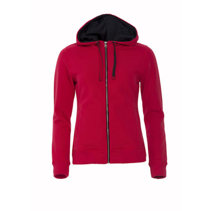 25be282c1565d2 Clique Art Hoody Full Zip Ladies 21045 Felpa Donna con Cappuccio ...