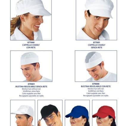 Cappello charly con rete 077000  86f1b9a166c1