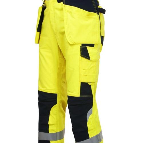 8503 Pantalone alta visibilità Trivelente FLAME RETARDANT  Spotpromo